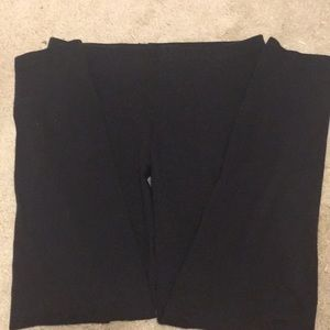 Black leggings size large